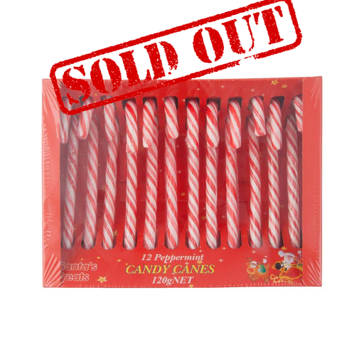 Christmas Candy Canes 120g