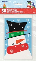 Snowman Buddies 50 Treat Bags
