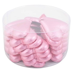 Pink Belgian Chocolate Hearts 30g x 30