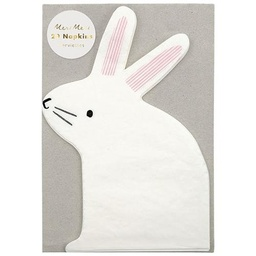 Small Bunny Napkins 12 pack