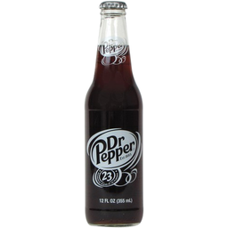 Dr Pepper Glass Bottle 355ml