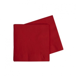 Red Cocktail Napkins 40pk