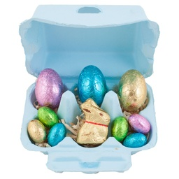 Blue Lindt Bunny & Easter Egg Hamper