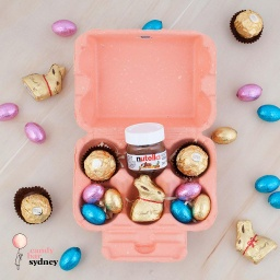 Peach Lindt & Nutella Easter Hamper
