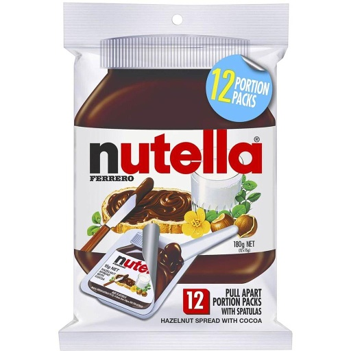 Nutella Hazelnut Spread 15g - 12 Pack