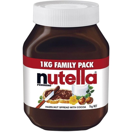 Nutella Hazelnut Spread 1kg Jar