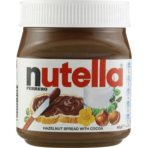 Nutella Hazelnut Spread 400g