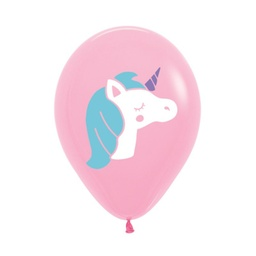 Pink Unicorn Latex Balloons