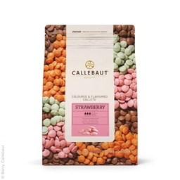 Callebaut Strawberry Callets