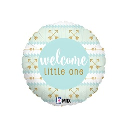 Blue Welcome Little One Foil Balloon COPY