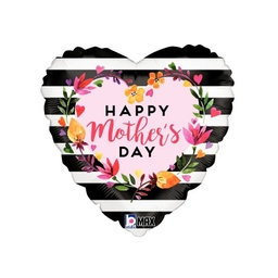 Happy Mother's Day Watercolour Foil Balloon 46cm