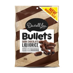 Darrell Lea Dark Chocolate Bullets 250g