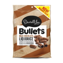 Darrell Lea Milk Chocolate Bullets 250g