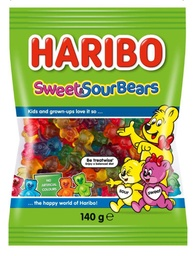 Haribo Sweet and Sour Bears 140g