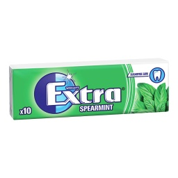 Extra Spearmint 10 Piece Bulk Pack