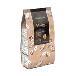 Valrhona Dulcey 32% White Couverture Chocolate Feves