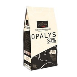 Valrhona Opalys 33% White Couverture Chocolate Feves