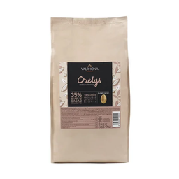 Valrhona Orelys 35% White Couverture Chocolate Feves