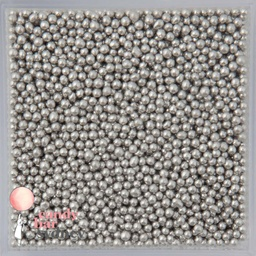 Silver Cachous Sprinkles 2mm