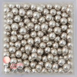 Silver Cachous Sprinkles 5mm