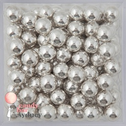 Silver Cachous Sprinkles 8mm