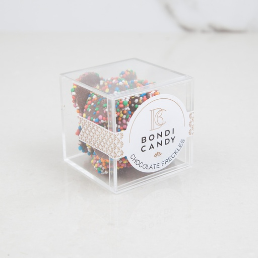 Chocolate Freckles Candy Cubes