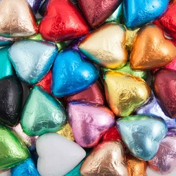 Mixed Belgian Chocolate Hearts 500g - 5kg
