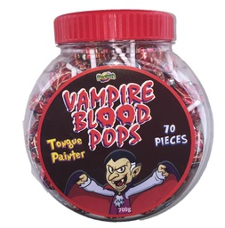 Vampire Blood Pops Jar 700g