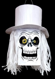 Top Hat Skull Pinata