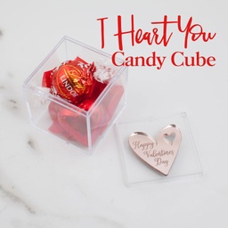 I Heart You Candy Cube