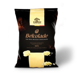 Belcolade Belgian 28% White Chocolate Drops 15kg