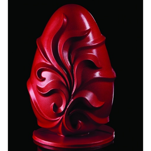 Pavoni Barocco Easter Egg Thermoformed Chocolate Mould