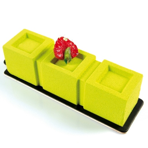 Pavoni Trittico PX015 Monoportion Silicone Mould