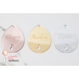 Personalised Easter Egg Hamper Tag