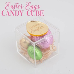 Easter Eggs Candy Cube