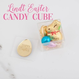 Lindt Bunny and Eggs Candy Cube