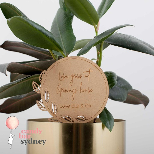 Personalised Mother's Day Planter Stick Style 2