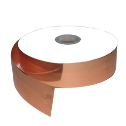 Metallic Rose Gold Tear Ribbon 30mm x 91m