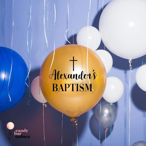 Custom Baptism Decal