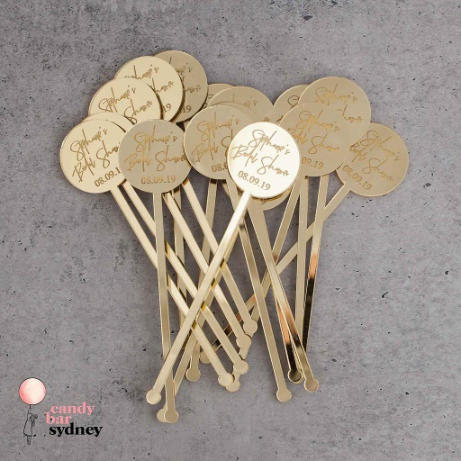 Personalised Drink Stirrers Style 5