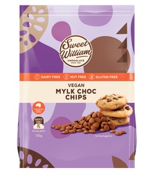 Sweet William Compound Milk Baking Choc Chips 150g