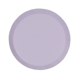 Pastel Lilac Paper Snack Plate 10pk