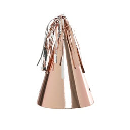Metallic Rose Gold Party Hat 10pk