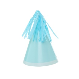 Pastel Blue Paper Party Hat 10pk