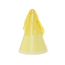 Pastel Yellow Paper Party Hat 10pk
