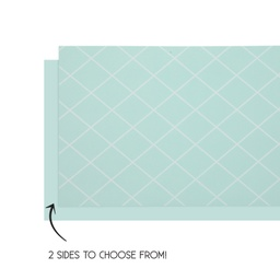 Mint Green Reversible Table Runner