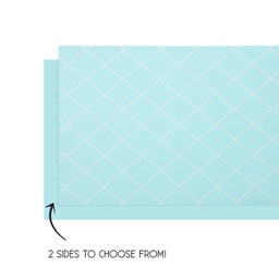 Pastel Blue Reversible Table Runner