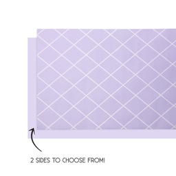 Pastel Lilac Reversible Table Runner