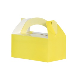 Pastel Yellow Lunch Box 5pk
