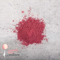 Edible Metallic Ruby Pearl Dust
